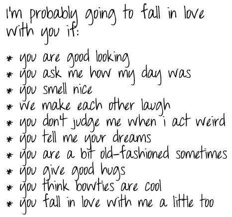 Guys fall in love with me